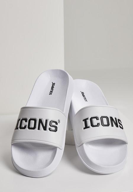 Urban Classics Icons Slides white/black - 37