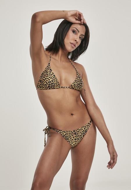 Urban Classics Ladies Animal Bikini leo - XL