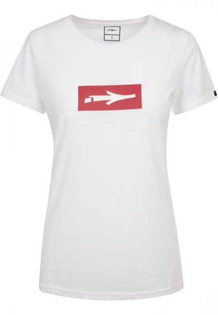 Urban Classics Ladies Inbox T-Shirt white