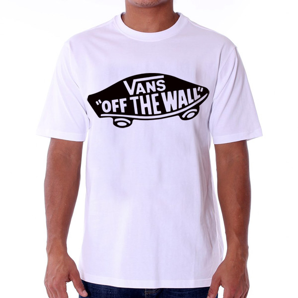 Pánske Tričko Vans MN Vans OTW T-shirt White Black VJAZZB2 - 2XL