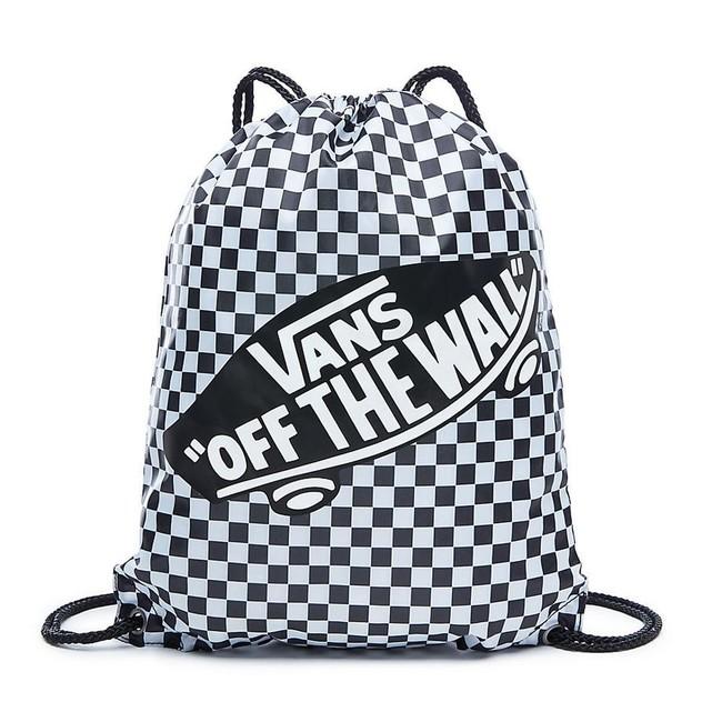 Vans VANS WM BENCHED BAG Black/White Checkerboard