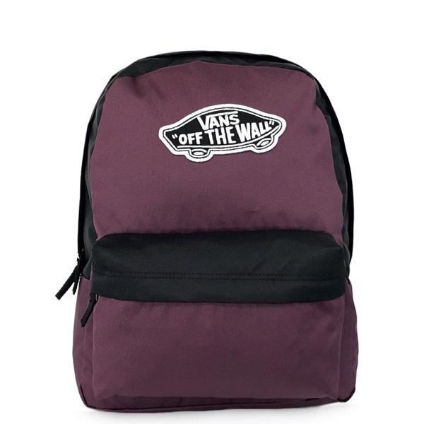 Batoh VANS WM Realm Backpack Prune Black - UNI